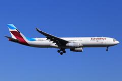 Eurowings Airbus A330-342 OO-SFB