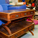 Mahogany reproduction coffee table with drawers E150