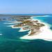 2. Cayo Largo del Sur, en Cuba, desde el aire