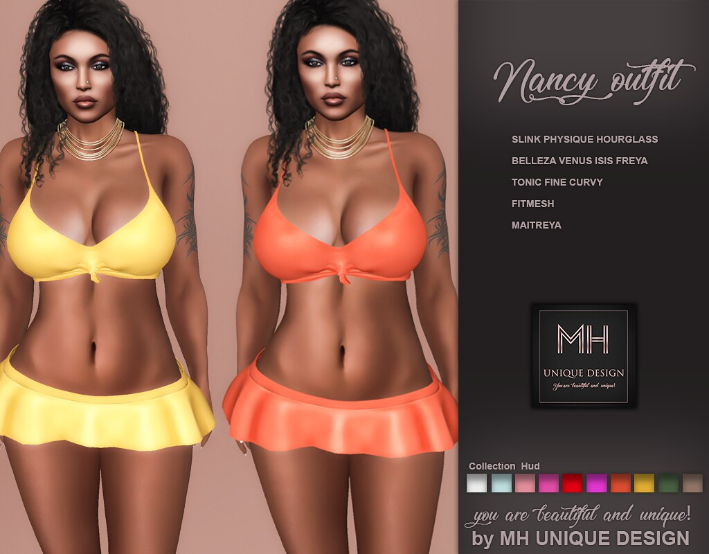 MH-Nancy Outfit Collection - TeleportHub.com Live!