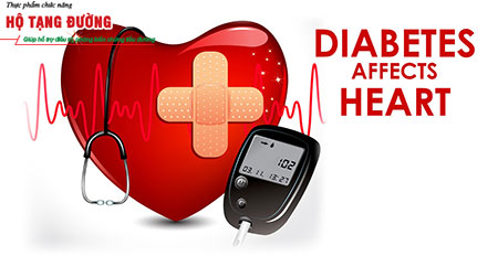 Biến chứng bệnh tiểu đường làm tăng gánh nặng lên tim