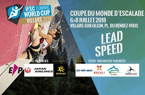 IFSC World Cup Villars 2018