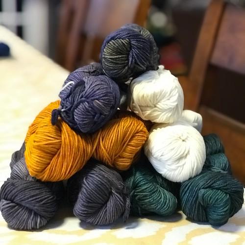 New shipment of Malabrigo Rios has arrived - adding five more colours of squishy goodness!