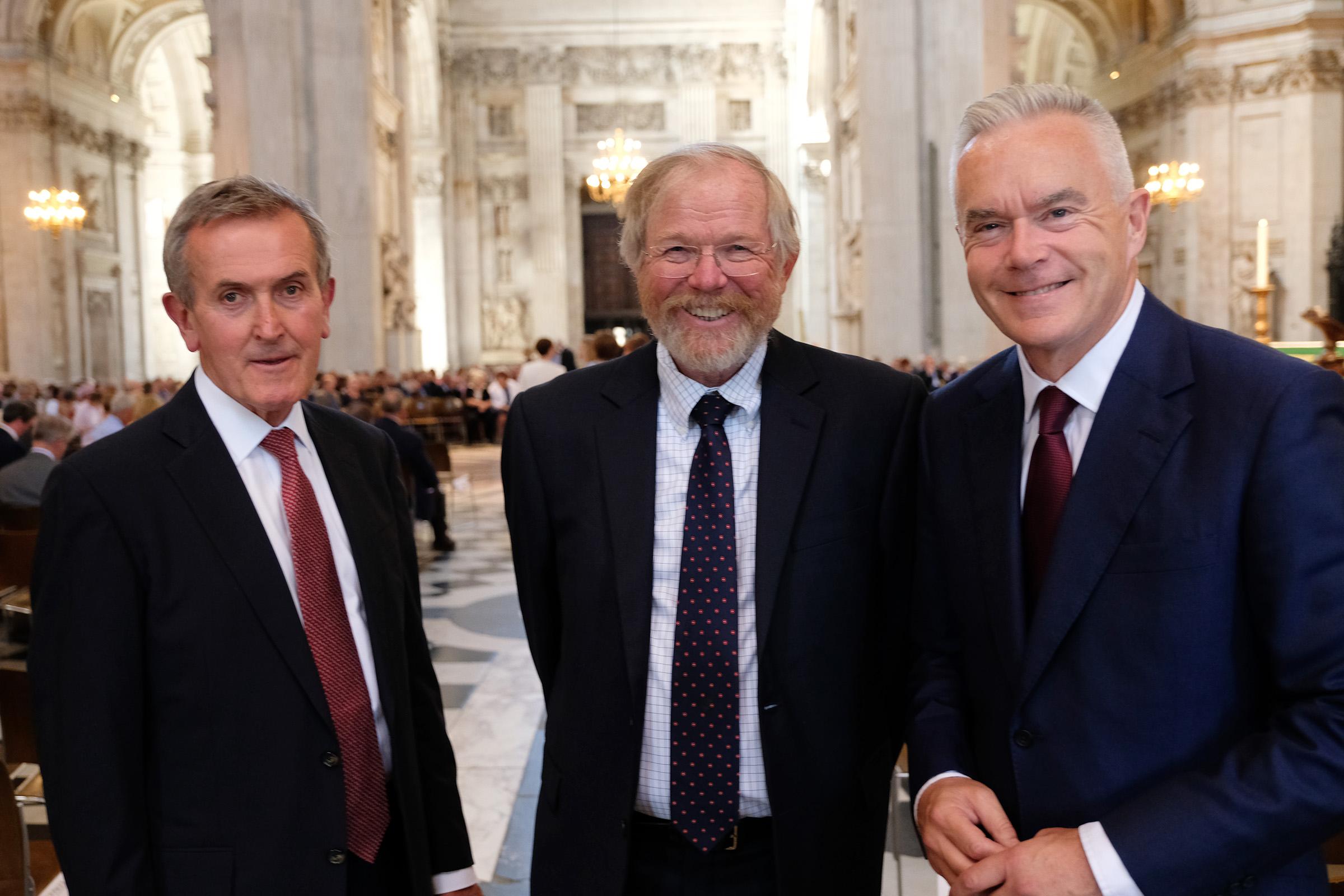 Neil MacGregor, Bill Bryson, Huw Edwards