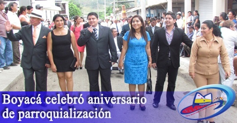 Boyacá celebró aniversario de parroquialización