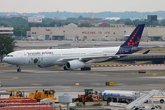 OO-SFX | Airbus A330-343 | Brussels Airlines (w/Tomorrowland logo)
