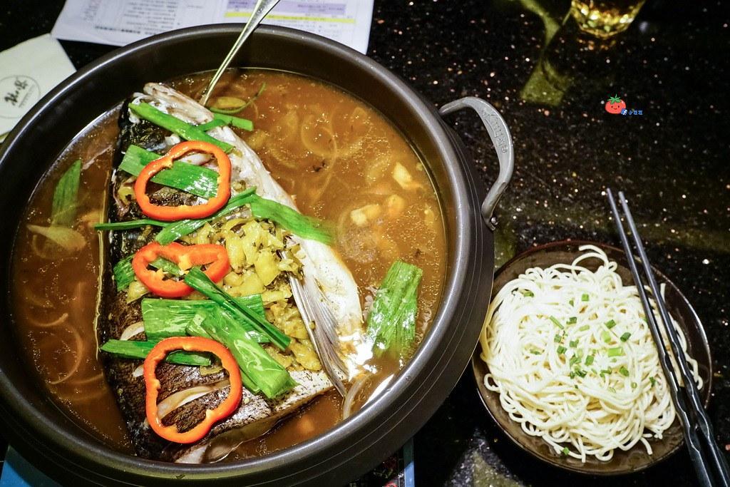 杭州餐廳推薦杭兒風-千島湖醬魚頭_resize