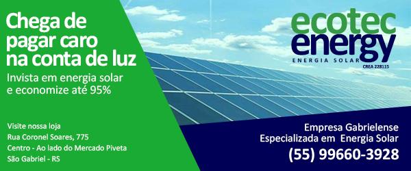 Chega de pagar caro na sua conta de luz. Ecotec Energy