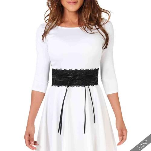 Crochet Belt For Dress