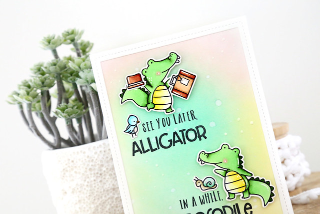 Later alligator! (Neat and Tangled release week)