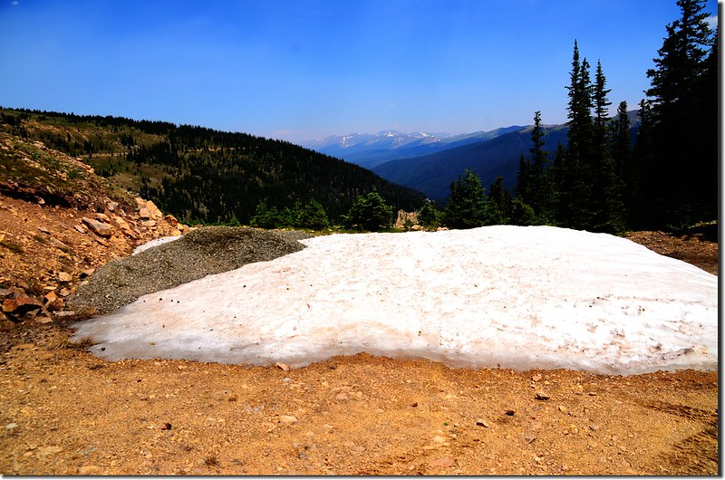 The viewpoint at Berthoud Pass Ditch trail (2)