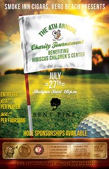 Smoke Inn Cigars, Vero Beach 4th Annual Charity Golf Tournament benefiting Hibiscus Children's Center
