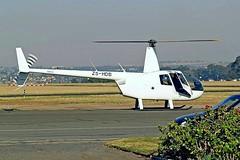 ZS-HDB Robinson R-44 Raven II [10519] Johannesburg-Rand~ZS 21/09/2006