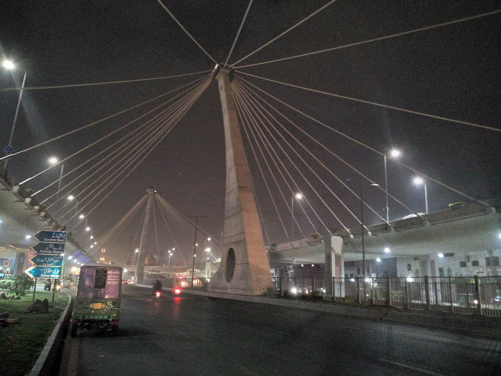 Azadi Chowk bridge