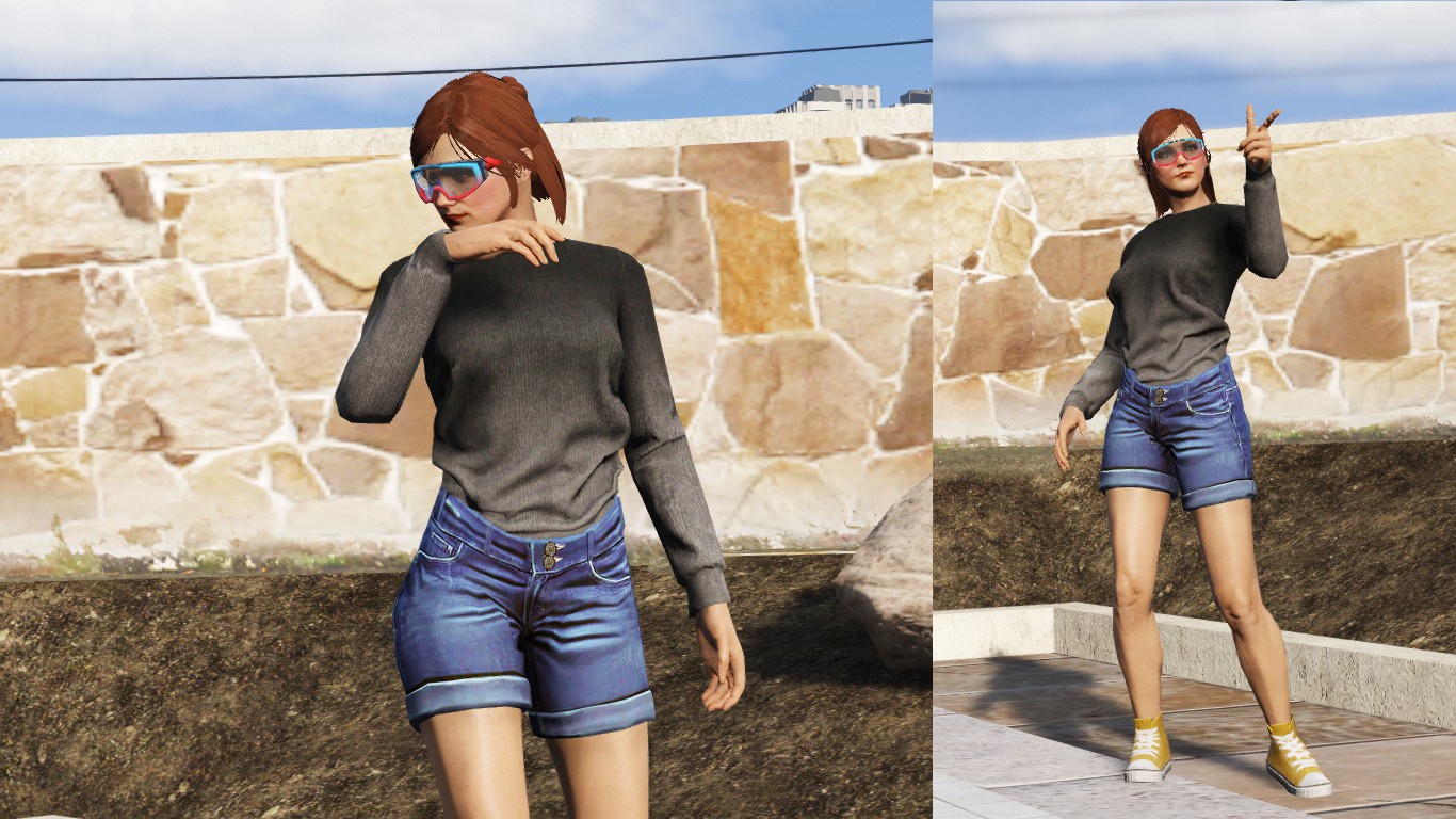 Dear r* (regarding overall female clothing choices) - Page 116 - GTA