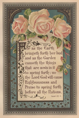 1888 Isaiah 61:11