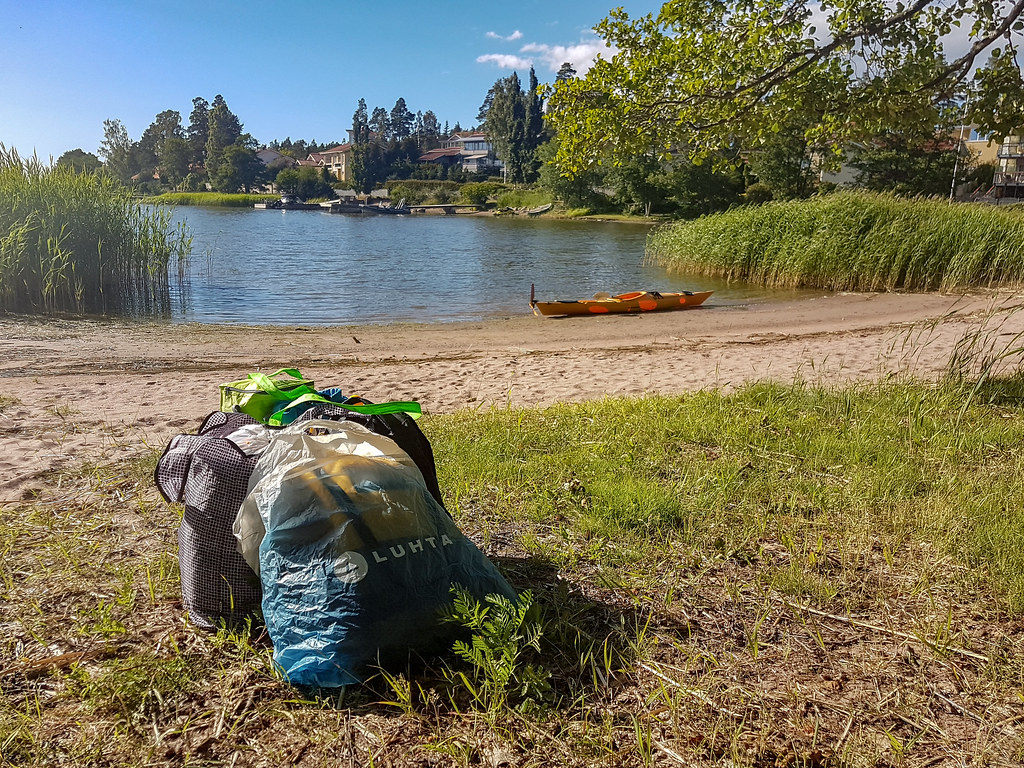 What and how to pack kayak for an overnight camping trip