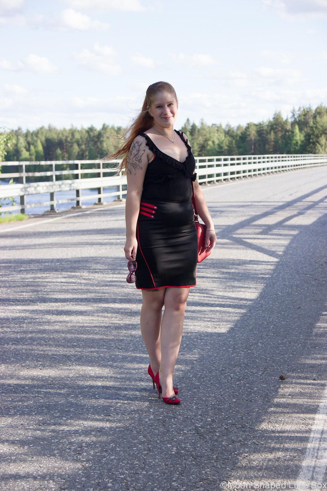Outfit of the day, styleblogger, bloggaaja asukuvissa