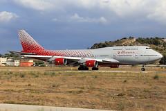 Rossiya Boeing 747-446 EI-XLI
