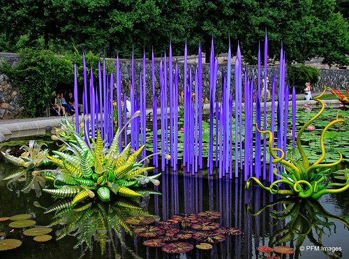 asheville northcarolina biltmore nc sculpture glass water reflection purple green trees outdoor landscape canon eos slr 7d flickr garden gardenandglass