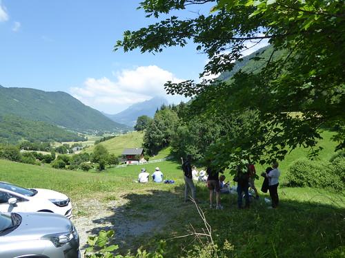 Lunching with drumlins at Sainte Reine