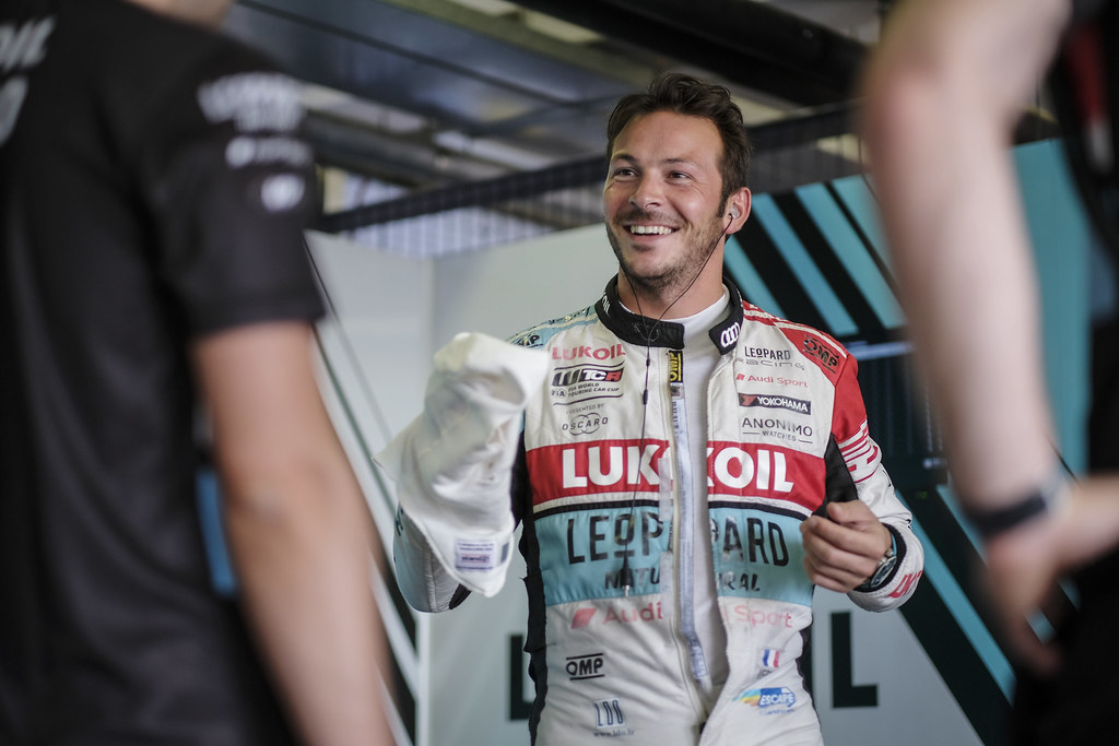 VERNAY Jean-Karl, (fra), Audi RS3 LMS TCR team Audi Sport Leopard Lukoil, portrait during the 2018 FIA WTCR World Touring Car cup race of Slovakia at Slovakia Ring, from july 13 to 15 - Photo François Flamand / DPPI.