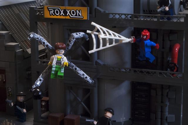 Doc Ock VS Spider-man