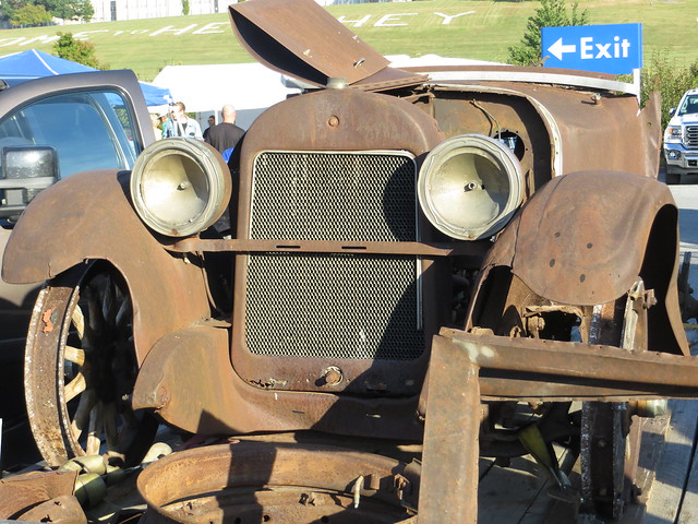 Rusted Vehicle