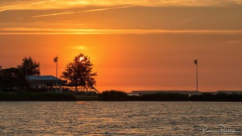 Sunset Paviljoen Meerzicht Grevelingendam