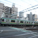 Tokaido Line E233 Series/E231 Series Train at Takizaka Crossing 3
