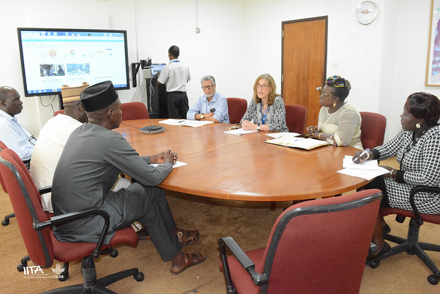 Nigerian Ministry of Foreign Affairs delegation visit IITA Ibadan