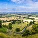 Gloucestershire Summer panorama