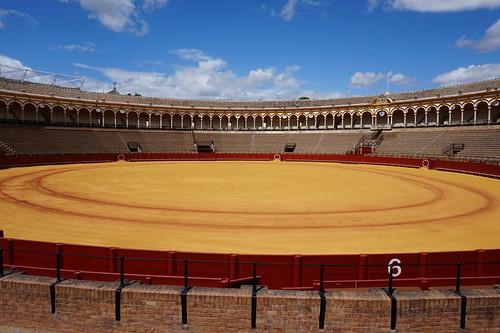 Plaza de toros de la Maestranza, Seville, Spain