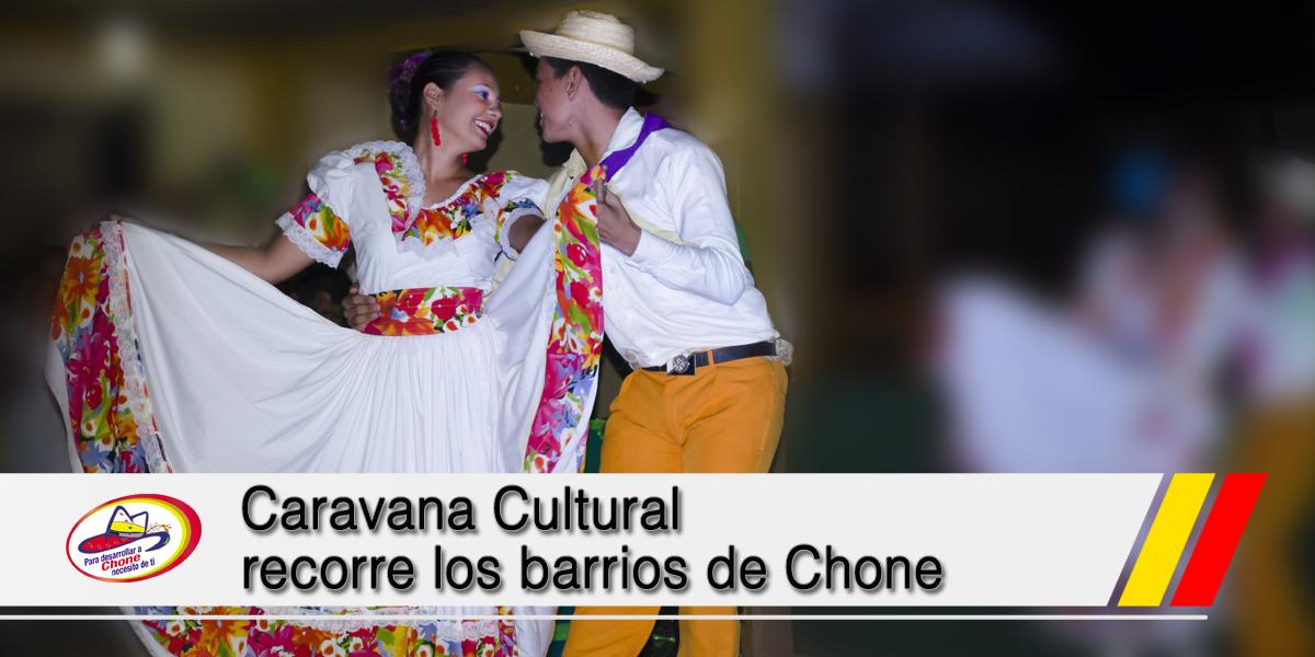 Caravana Cultural recorre los barrios