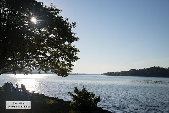 Ottawa River in the morning sun