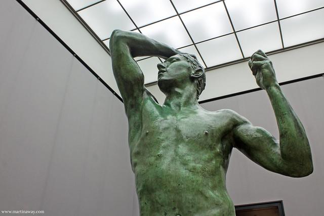 L'età del bronzo, Rodin. Alte Nationalgalerie