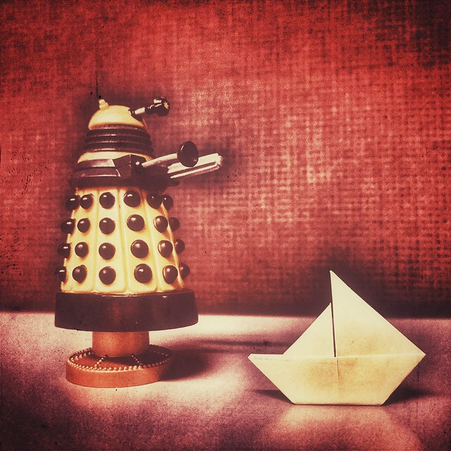 Paper Boat #postitorigami
