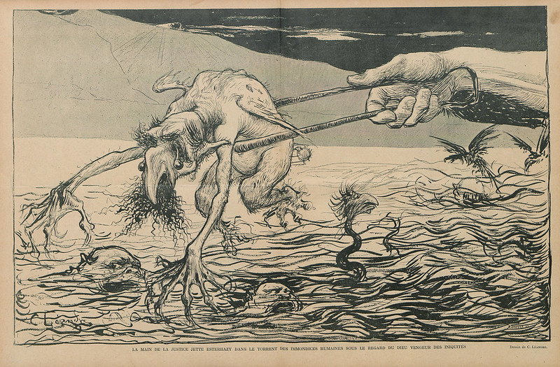 Charles Lucien Leandre - Illustration from Rire, 1898