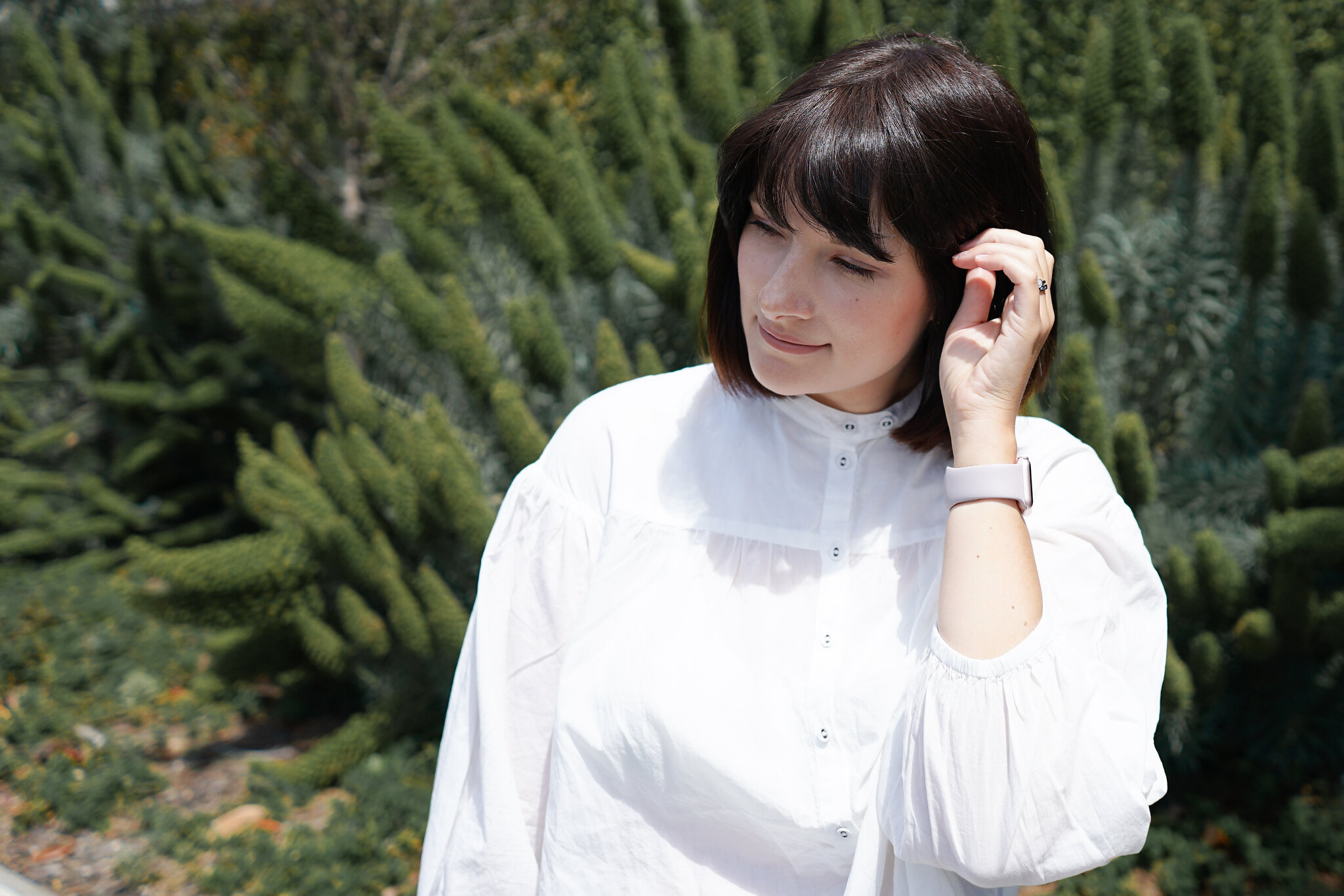 Uniqlo, Smock, Blouse, wHITE, SUMMER, Fbloggers, OOTD, Postpartum style, new mom