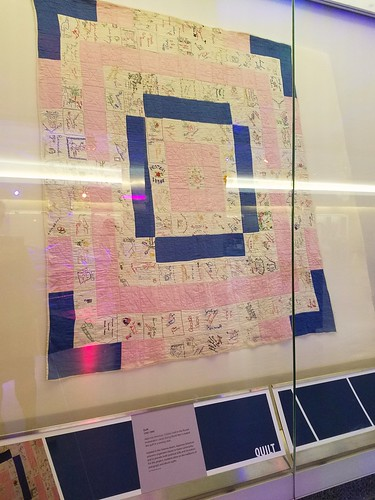 Quilt Made by Japanese-Americans Interred during WWII