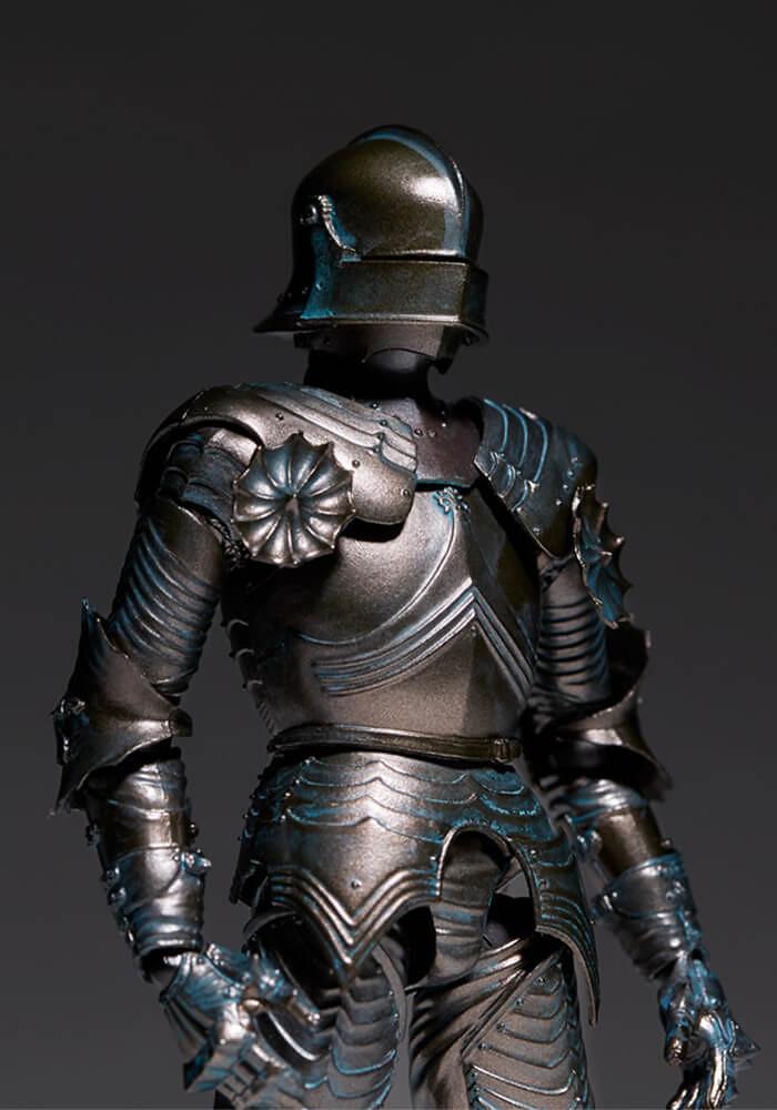 海洋堂『TAKEYA(タケヤ)式自在置物』KT-020 15世紀哥德式板甲-青銅(15世紀ゴチック式フィールドアーマー ブロンズ)