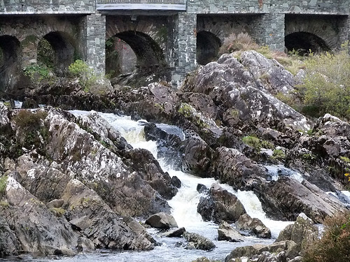 The bridge over the river at Sneem in Ireland