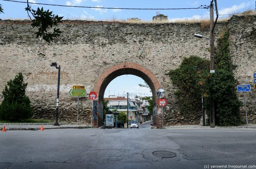 Сплошное ЮНЕСКО в Салониках