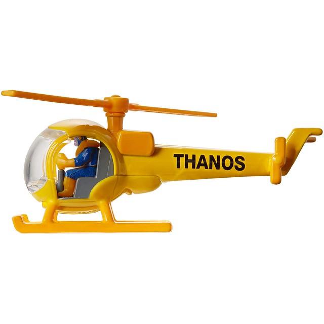 瘋狂泰坦最爆笑的黑歷史立體化?! 風火輪 Marvel【薩諾斯直升機】Thanos Helicopte【2018SDCC 限定】