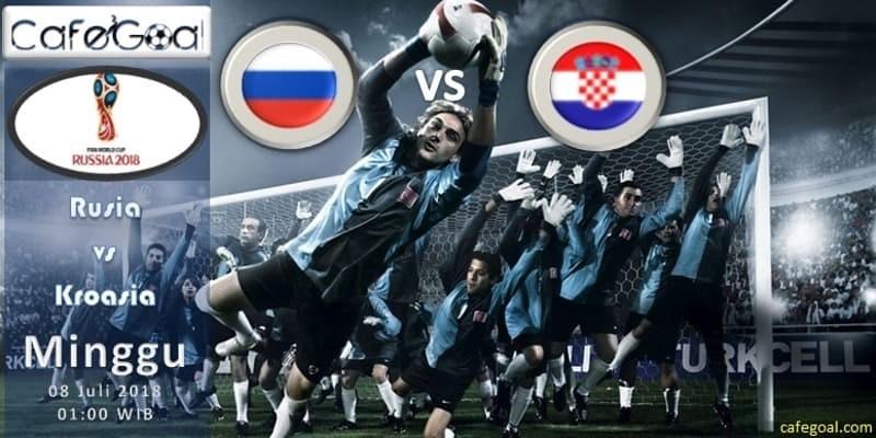 Prediksi Bola Rusia vs Kroasia ,Hari Minggu, 08 Juli 2018 – Piala Dunia