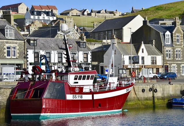 SS118 Crystal Sea - Macduff Harbour - Aberdeenshire Scotland - 3/7/2018