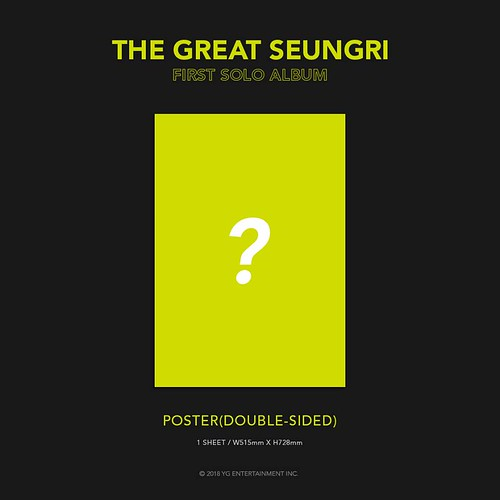 Seungri THE GREAT SEUNGRI Solo Album 2018 (9)