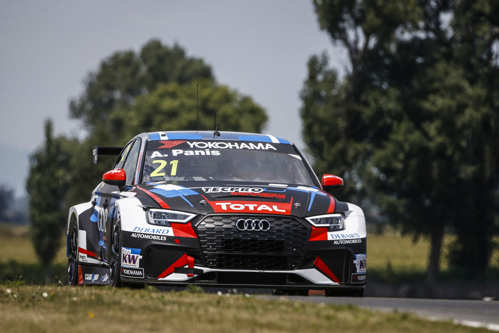 21 PANIS Aurelien, (fra), Audi RS3 LMS TCR team Comtoyou Racing, action during the 2018 FIA WTCR World Touring Car cup race of Slovakia at Slovakia Ring, from july 13 to 15 - Photo François Flamand / DPPI.
