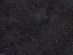 Comet C/2016 M1 (PANSTARRS) Widefield