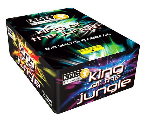 KING OF THE JUNGLE 168 SHOT #EpicFireworks
